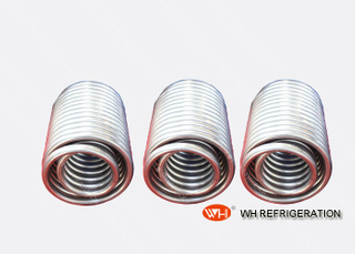 Stainless Steel Coil Heat Exchanger , Coaxial Spiral Tube Heat Exchanger