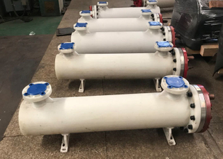 heat exchanger condenser Single System Water Cooled Dry Type Shell And Tube Condenser For Marine Cooler