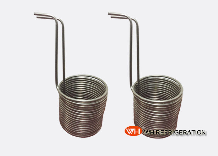 ISO Approved 316l Coils Tube Heat Exchanger, Aquarium Cooling Coil Evaporator,1hp Refrigeration Condenser Coil for Condensing