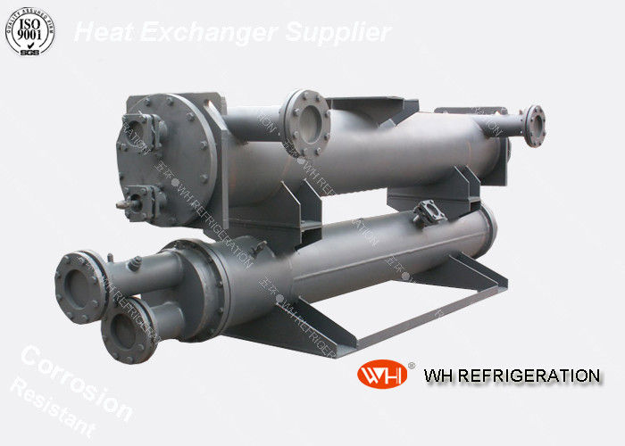 Water Chiller Wastewater Heat Exchanger Shell And Tube Type For Cooling / Heating