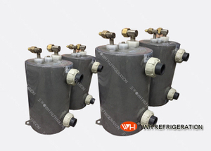 Marine Diesel Engine Heat Exchanger, Nickel Shell And Heat Exchanger, Pool Heating Shell Tube Heat Exchanger