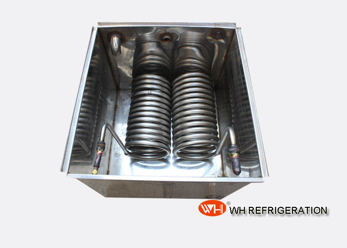 Seamless SUS304 Stainless Steel Tube Coil Heat Exchanger For Water Tank