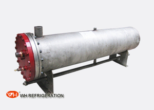 Titanium Shell And Tube Heat Exchanger 30 KW For Seawater Heat Transfer