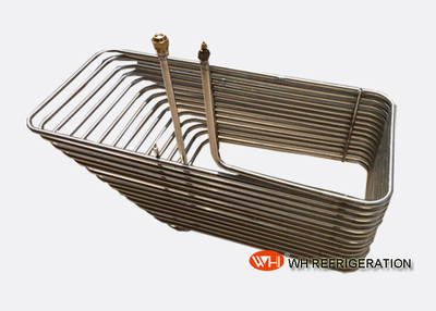Coaxial Coiled Twisted Tube Heat Exchanger For Vessel And Swimming Pool Equipment