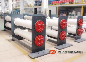 Stainlesss Steel Shell & Tube Dry Heat Exchanger For Refrigeration System 11KW~900KW
