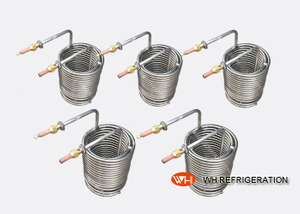 Immersion Coil Tube Heat Exchanger Stainless Steel Strong Corrosion Proof High Intensity