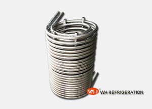 304 Stainless Heat Exchanger Coil For Pool Water Heating / Seawater Heat Transfer