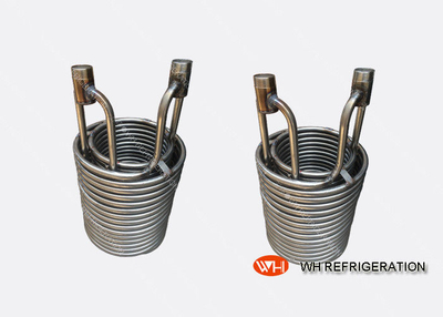 5KW Stainless Steel Heat Exchanger Coil For Marine / Seawater Heat Transfer