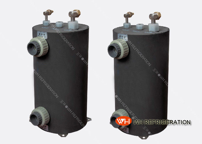 Vertical Shell And Tube Heat Exchanger For Swimming Pool Corrosion Resistant
