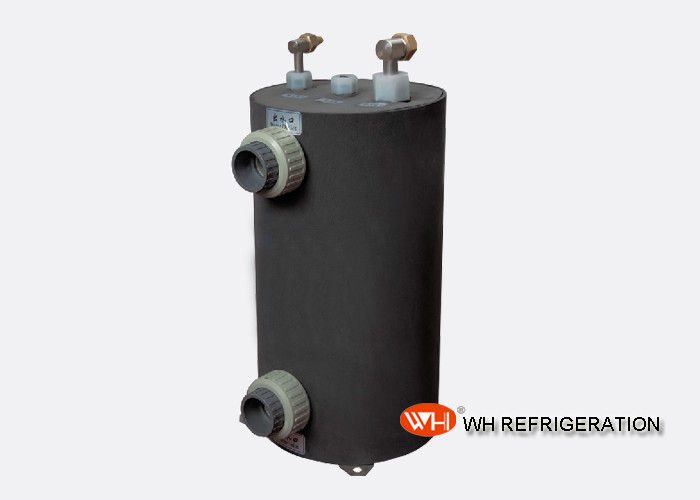 Tube In Shell Type Swimming Pool Heat Exchanger Condenser 1.5KW~60KW Capacity