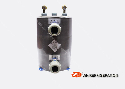High Efficient Tube Heat Exchanger for Swimming Pool,pure Titanium Evaporator,heat Pump Water Heater