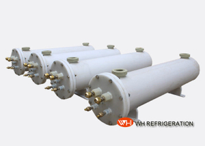 Tube Type Water To Air Heat Exchangers For SPA High Pressure Anti Corrosion