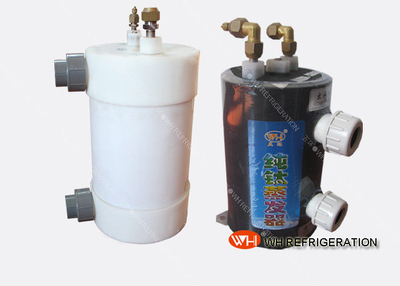 Cooling System Aquarium Titanium Heat Exchanger Coil,cooling Water in The Chillers with Corrugated Tube