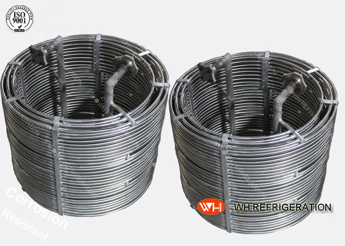 316 Stainless Steel Wort Chiller Evaporator Condenser Coils High Heat Transfer