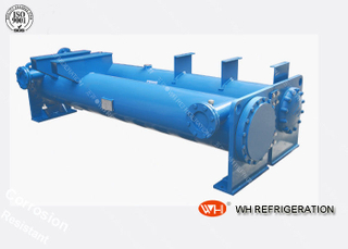 High Efficient Fish Tank Water Cooled Condenser Cooler Heat Exchanger Air Cooling Industrial Water Chiller Manufacturer