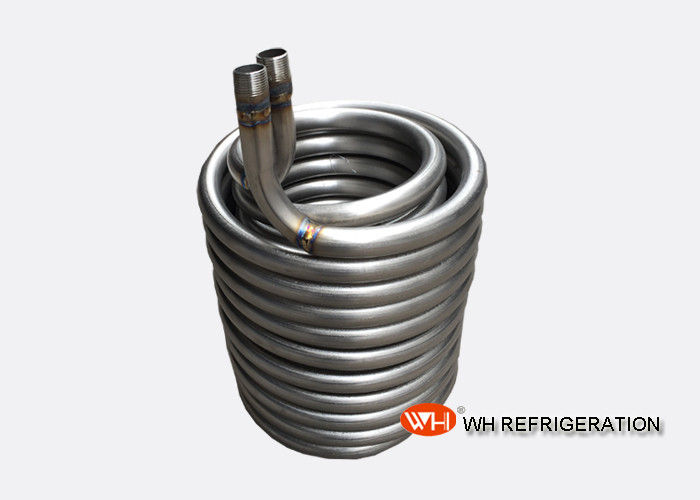 Seamless Stainless Steel Pipe Coil Heat Exchanger For Water Cooling And Heating