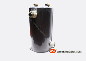 Professional Swimming Pool Heat Exchanger Shell And Tube Type Big Flow Volume