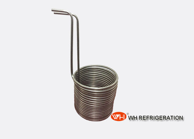 Stainless Steel Immersion Wort Chiller Coils 12mm Diameter , Home Brew Wort Chiller