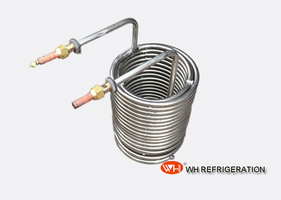 Custom SS304 Stainless Steel Heat Exchanger Coil Tubing For Heating And Cooling