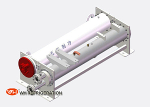 Shell And Tube Titanium Heat Exchanger For Air Air Cooled Heat Pump Unit