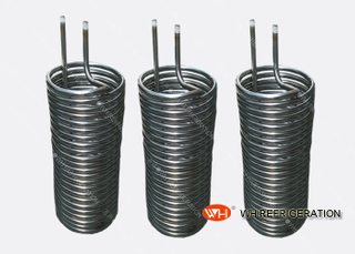 Seamless Steel Helical Tube Heat Exchanger For Heating / Cooling Corrosion Resistance