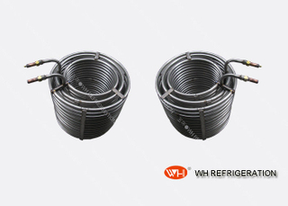 Stainless Steel Coil Tubing Heat Exchanger , Immersion Coil Heat Exchanger