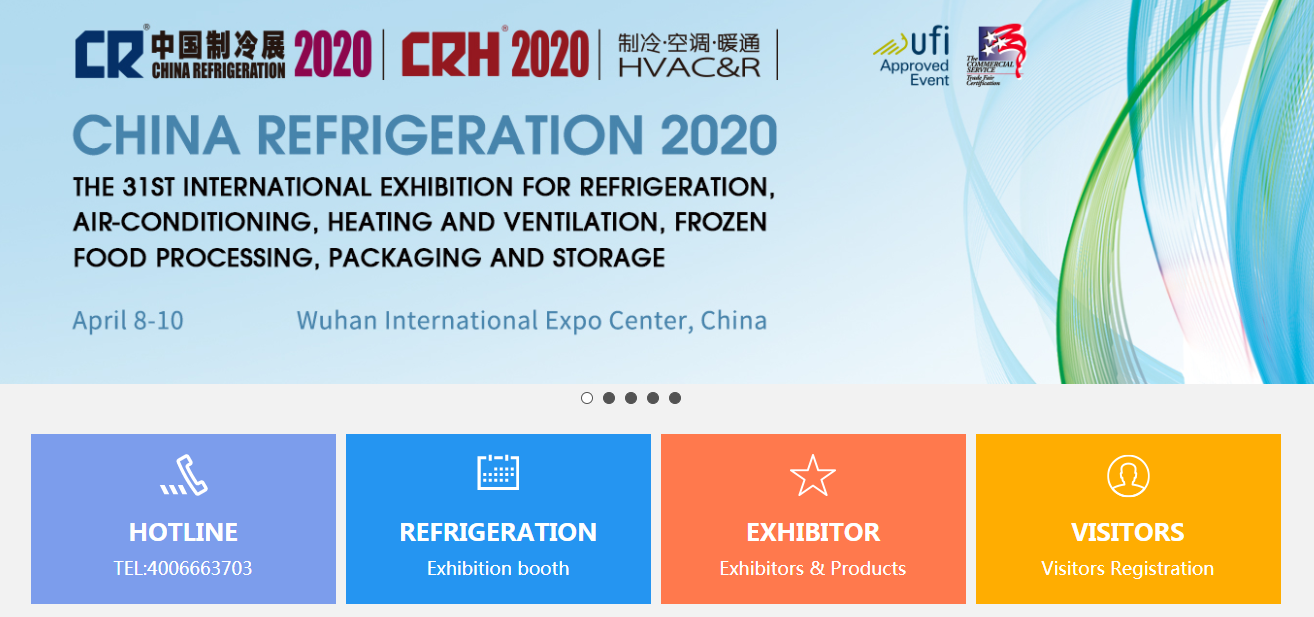 CHINA REFRIGERATION 2020, WELCOME!!!